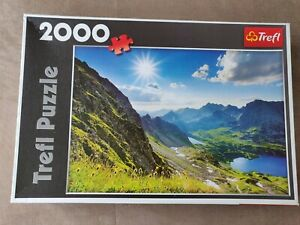 Trefl 27047 Puzzle Dolina Pieciu Stawow, the Tatras 2000 pieces NEW