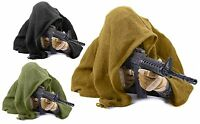 100% Cotton 46 Sniper Veil Shemagh Scarf Concealment Wrap W/ Cinch-cords