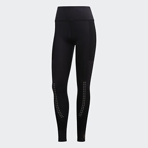 Black adidas AU by Stella McCartney Support Core Tights