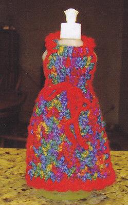 Dish Soap Bottle Apron crochet PATTERN INSTRUCTIONS