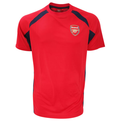 Arsenal FC Mens Official Football Crest Sports Panel T-Shirt//Tee SG2678