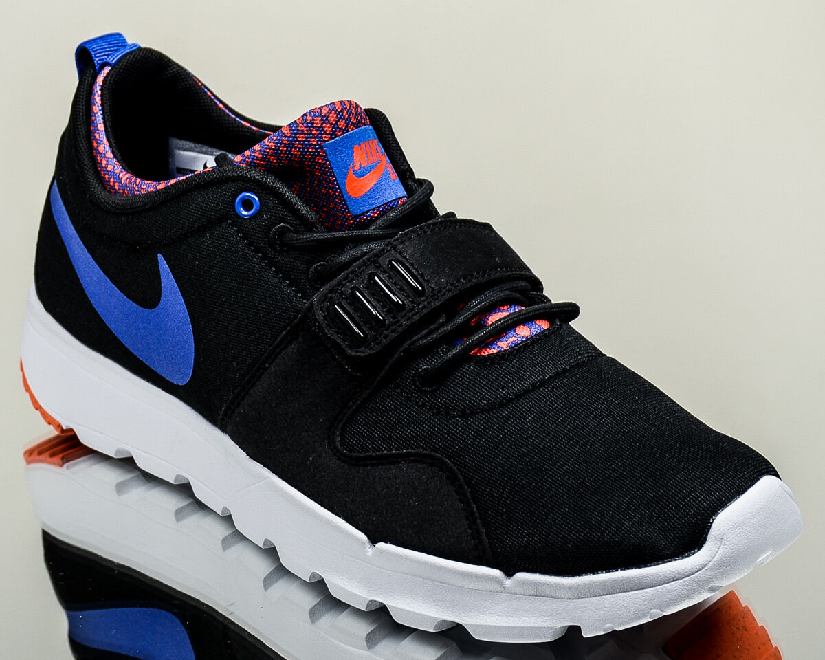 Nike casual SB Trainerendor men lifestyle casual Nike sneakers NEW black racer blue white ebea74