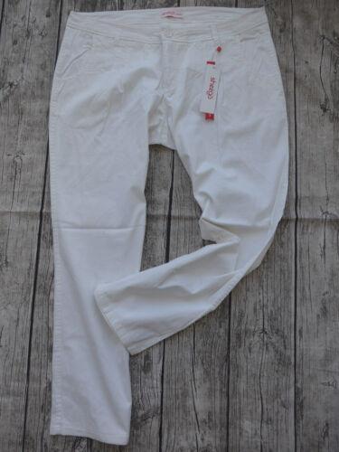 NEU 42 bis 52 Long Kurzgröße und Normal Größen Weiß 198 Sheego Hose Damen Gr