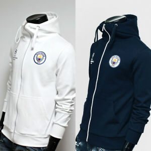 e1f45dac39 Free Gift + Manchester City Full Zip Hoodie Jacket Turtleneck Hooded ...
