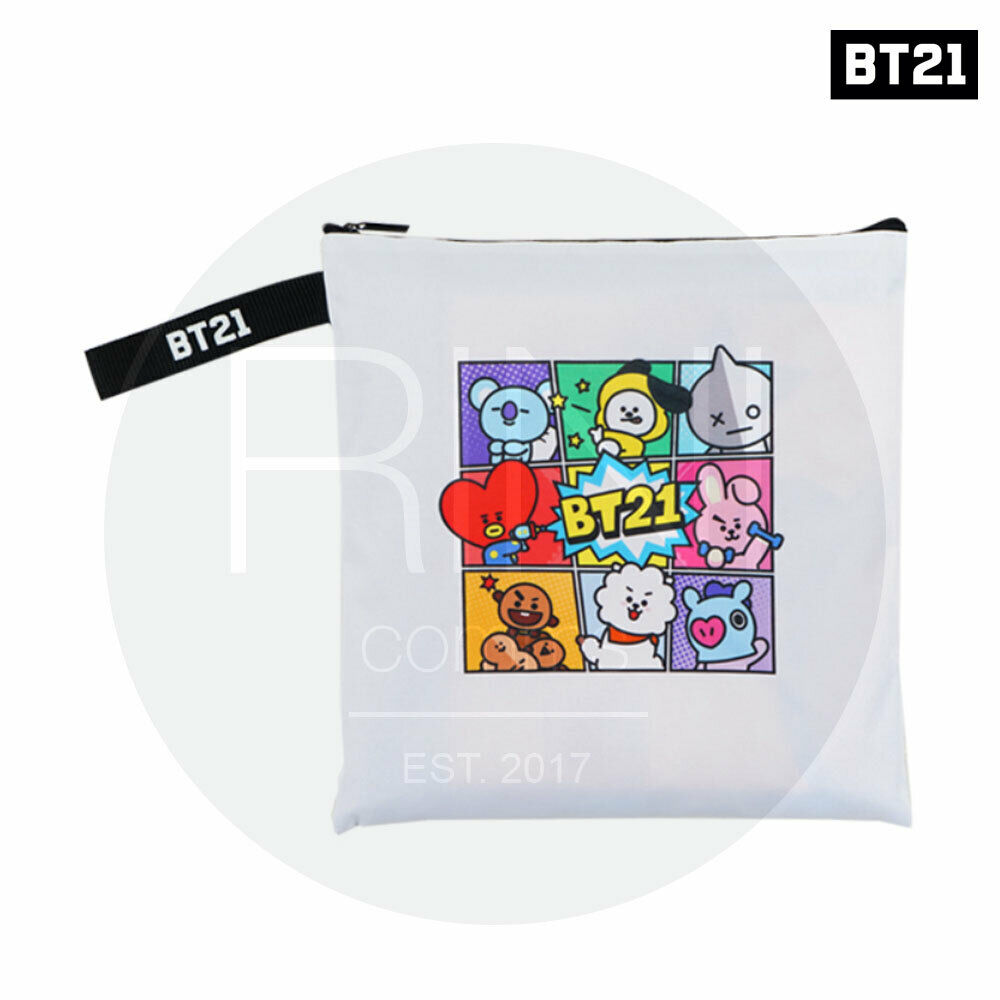 BTS BT21 Official Authentic Goods Picnic Mat 1450 x 1450 mm + Free Expedited
