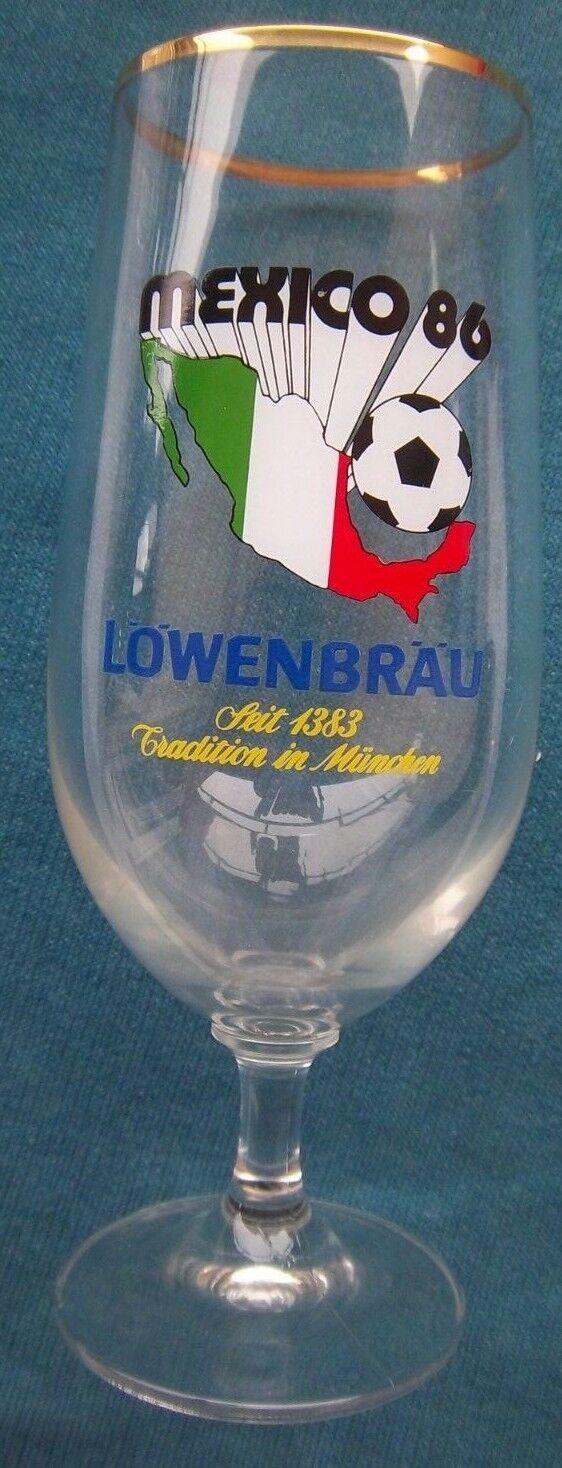 Orig.Glas  WM WM WM   Weltmeisterschaft MEXICO 1986 - Sonderotition   17 cm     SELTEN d3c2ae