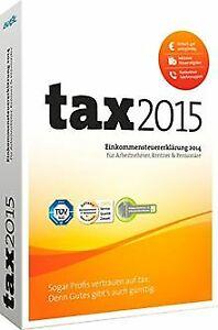 tax-2015-fuer-Steuerjahr-2014-von-Buhl-Data-Software-Zustand-gut