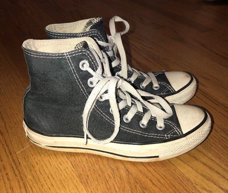 CONVERSE CHUCK TAYLOR Hi Tops Canvas Athletic Sneakers Womens shoes Sz 6 Men 4