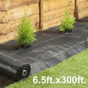 Details About Weed Barrier 6x100ft Heavy Duty Pp Woven Plastic Mulch Block Uv Ilized
