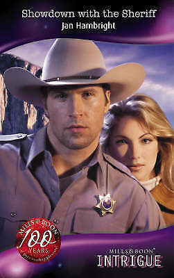 Very Good, Showdown With The Sheriff (Mills & Boon Intrigue), Hambright, Jan, Bo