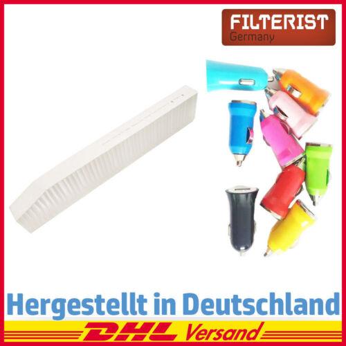 Filteristen Innenraumfilter Pollenfilter PIRF-184-DE Autoladegerät