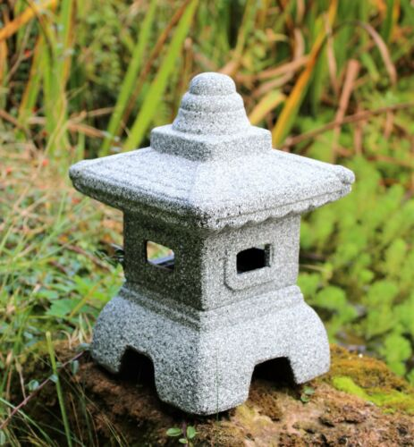 Pagoda Garden Chinese Japanese Ornament Sculpture Lantern decor patio Ceramic
