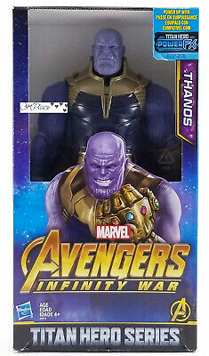 "Thanos Avengers Infinity guerre Titan Hero Series 12/"" Action Figure Hasbro Marvel"