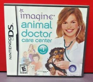 Imagine Animal Doctor Care - Nintendo DS DS Lite 3DS 2DS Game Complete + Tested
