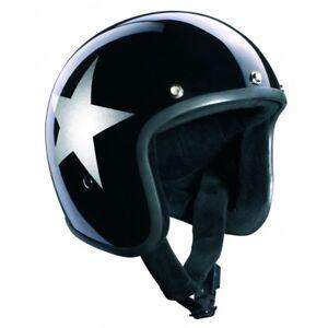 Casco-BANDIT-Star-Jet-Negro-Moto-NO-HOMOLOGADO-BANDIT-Star-Jet-Gloss-Black