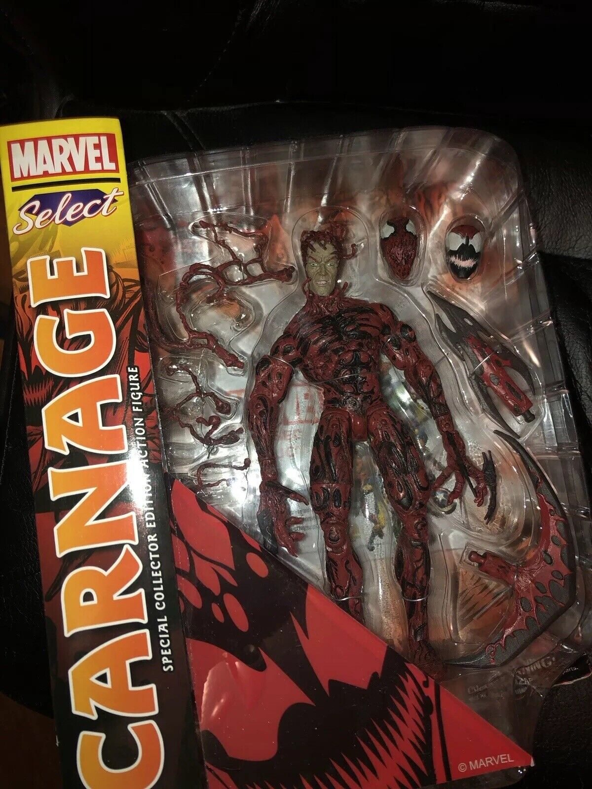 Marvel Select Carnage Action Figure (Rare & Discontinued) New in Box