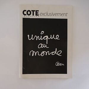 COTE-MAGAZINE-exclusivement-UNIQUE-AU-MONDE-BEN-OCTOBRE-2010-N-188