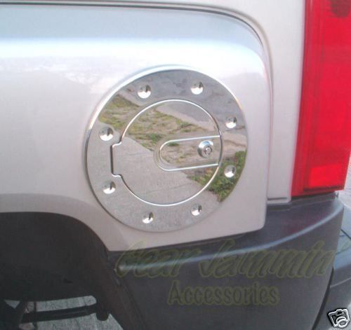 Hummer H3 Billet Chrome Locking Fuel Door 06-10 H3T