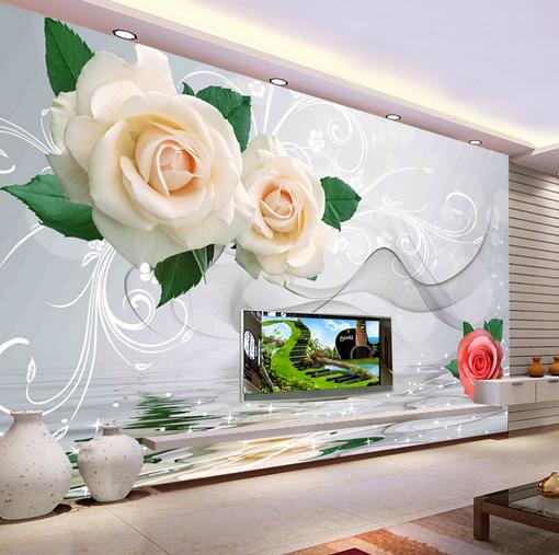 3D Beautiful Roses 74 Wall Paper Murals Wall Print Wall Wallpaper Mural AU Kyra