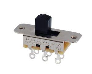 Switchcraft-Slide-Switch-DPDT-or-DPTT-Mustang-Duosonic-Jazzmaster-Jaguar