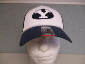 6a7821c2156 New BYU Cougars Adult Mens Sizes OSFA Nike Trucker Flex Fit Cap Hat ...