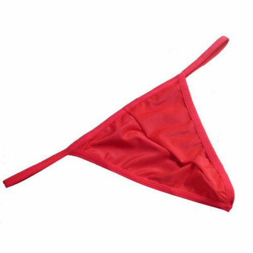 Mens Mini Bikini Briefs Underwear Underpants Thong G string Portable Tools Sale