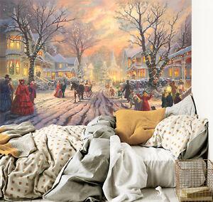 3d weihnachten karneval menschen fototapeten wandbild - Wandbild familie ...