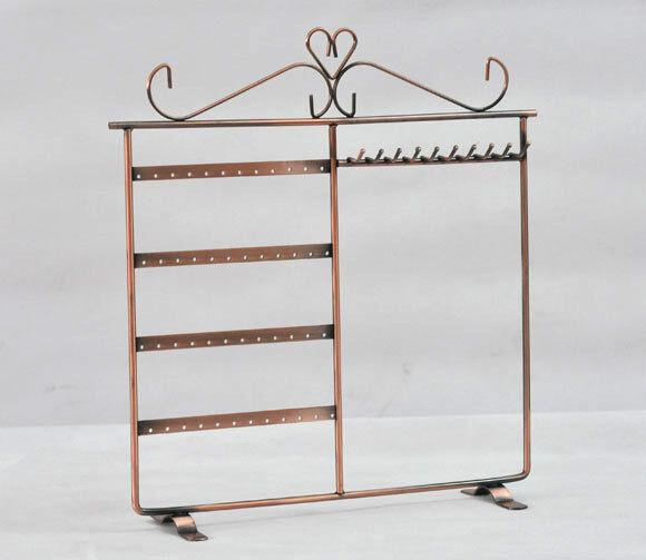 1 Espositore Display Stand Porta Orecchini Gioielli Bigiotteria 34x32x8.5cm