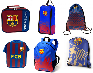 Image Is Loading Fc Barcelona Back To School Backpack Boot Bag