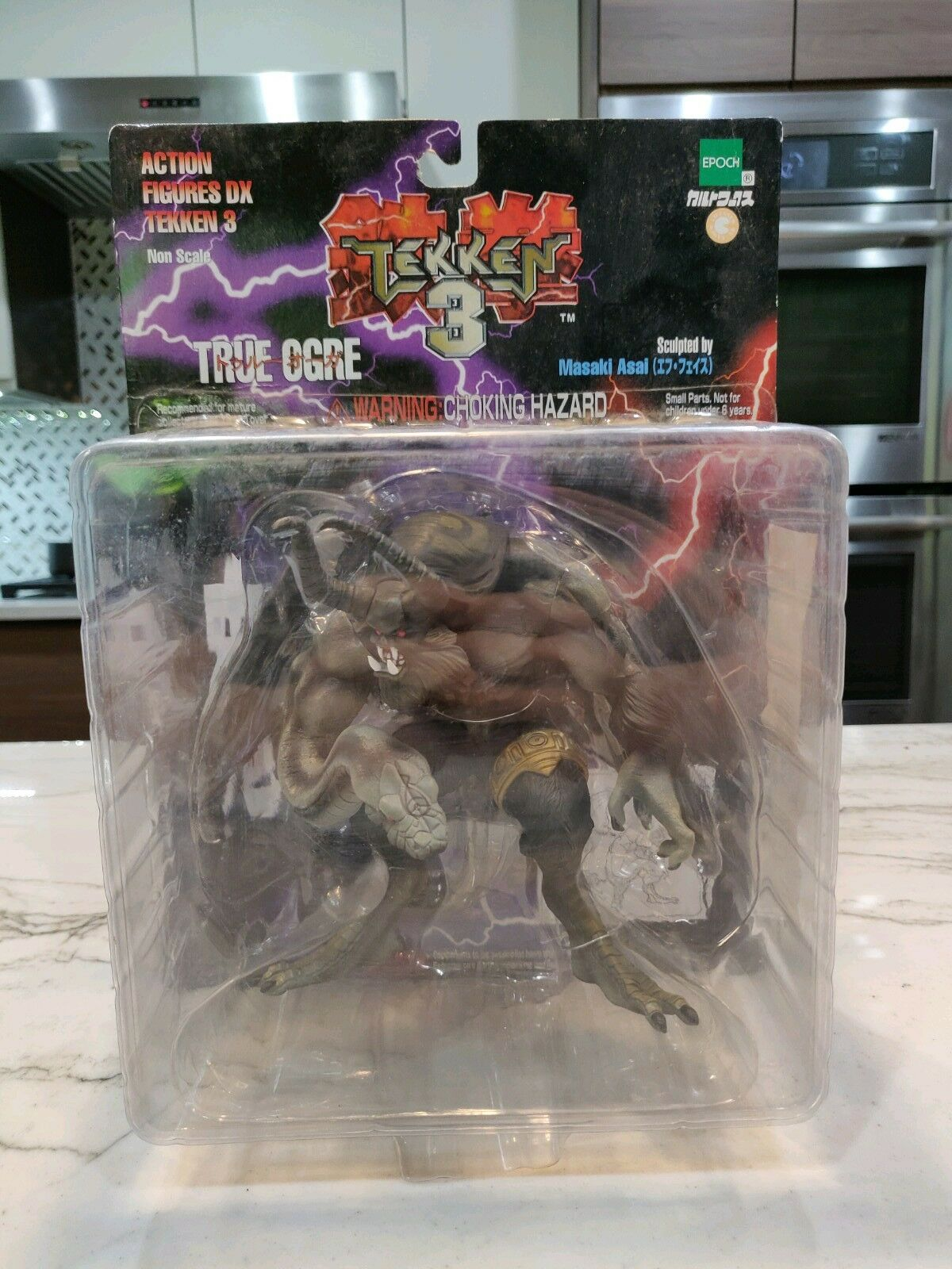 1999 Epoch Tekken 3 True Ogre  DX-01 New