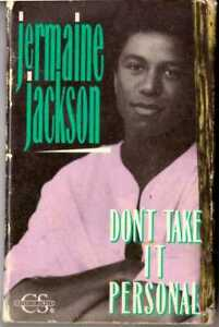 JERMAINE JACKSON Don't Take It Personal / Clean Up Your Act CASSETTE SINGLE