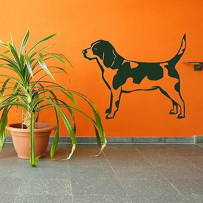 Cute Dog Modern Wall Art Autocollant Large Vinyle Transfert Graphique Autocollant Décoration NE129