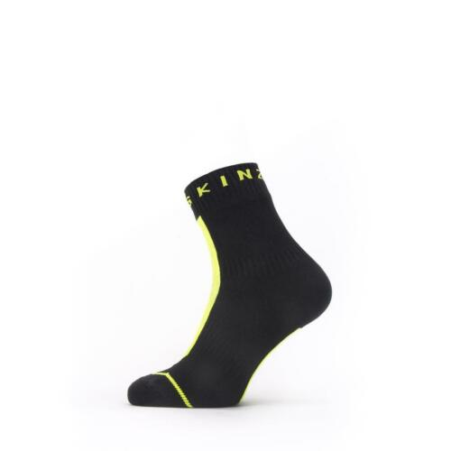 Seal Skinz Waterproof All Weather Ankle Length Sock with Hydrostop Large Large