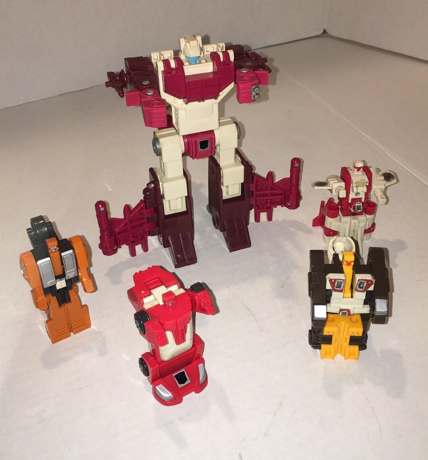 Vintage Transformers G1 Full Computron Robot - Technobots 95% Complete