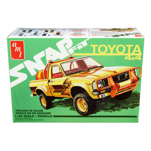 Skill 1 Snap Model Kit Toyota Hilux 4x4 Pickup Truck 1//25 Scale Model by AMT AMT