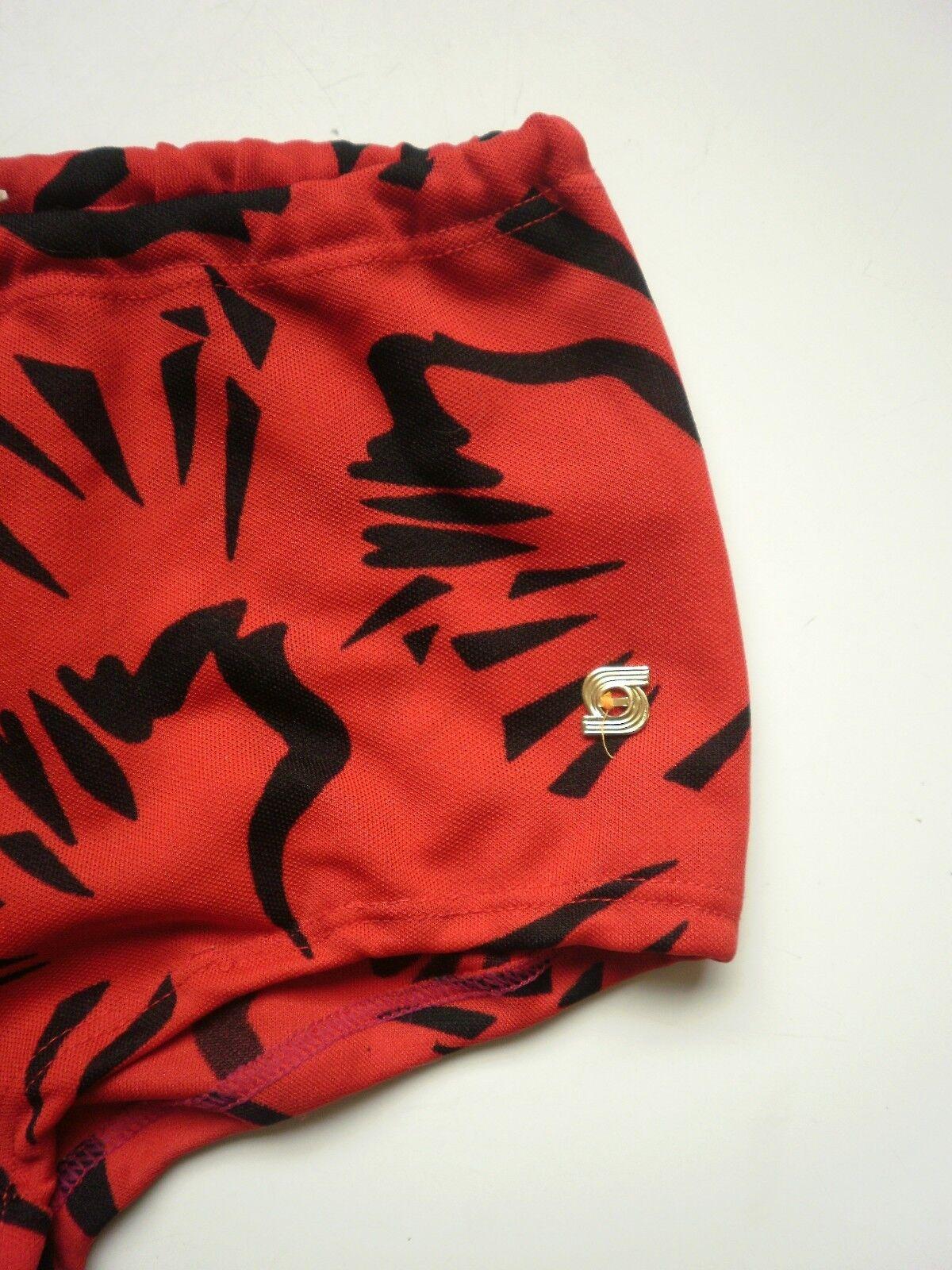 Badehose VEB DDR Sporett Swim Suit Badeslip 70er True Vintage GDR rot schwarz D6  | Elegante Form  | Elegante und robuste Verpackung  | Sonderkauf