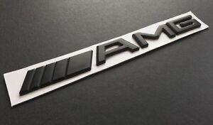 New-AMG-Black-Logo-Sticker-for-Mercedes-Rear-Emblem