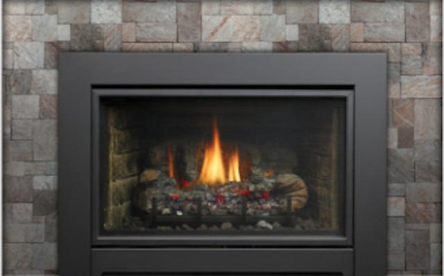 Kingsman Idv44 Direct Vent Propane Gas Fireplace Insert With Ipi