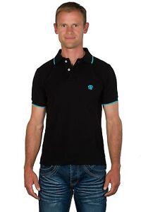 hommes avec pour logo Polo canne contrasté contrasté Ugholin noir 7fIvbyY6gm