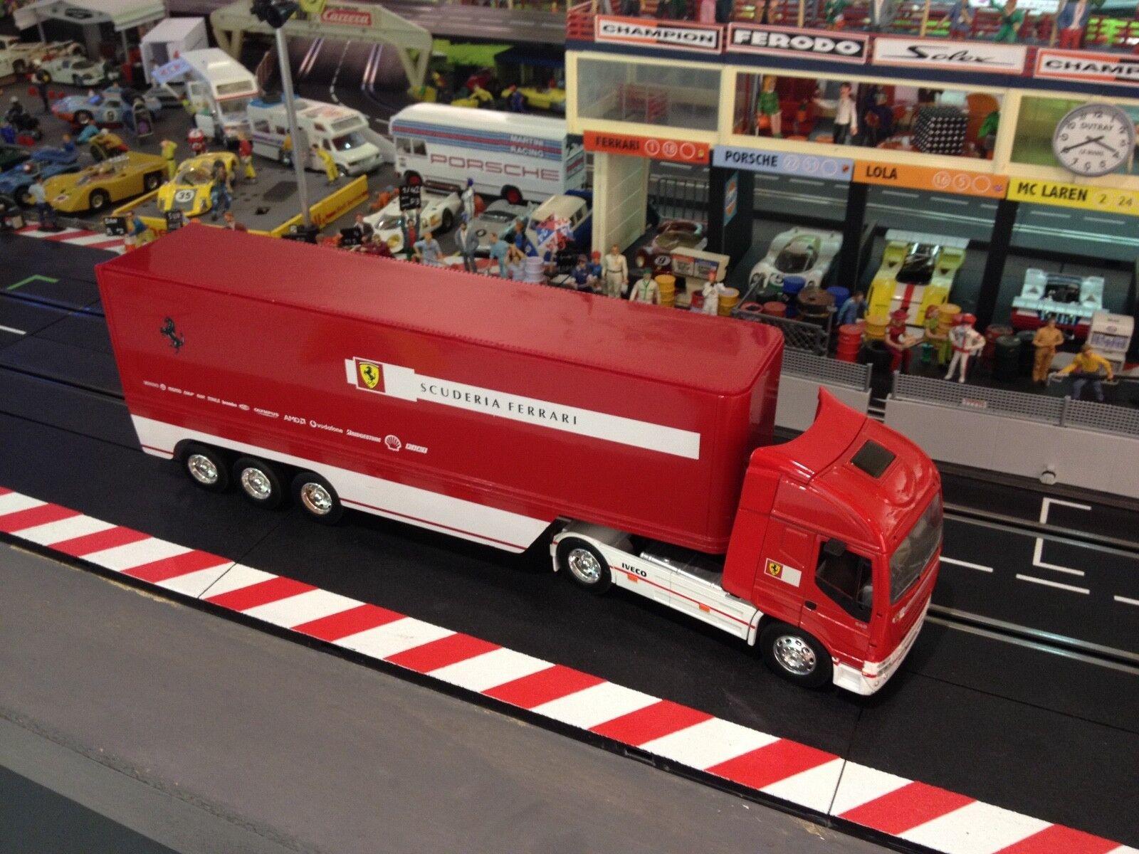 IVECO Scuderia Ferrari Renntransporter 1 32 1 24 Formel 1 Carrera  Slot Deko