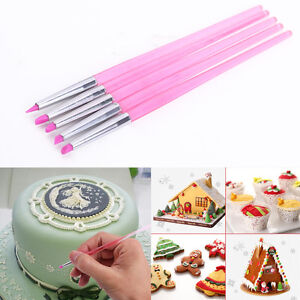 cake decorating silicone icing brush pen tools for sugarcraft new