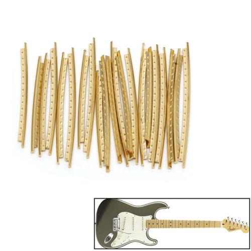 KQ 21 Stück Griffbrett Bünde Bund Draht Kupfer für Akustikgitarre Klassik 2