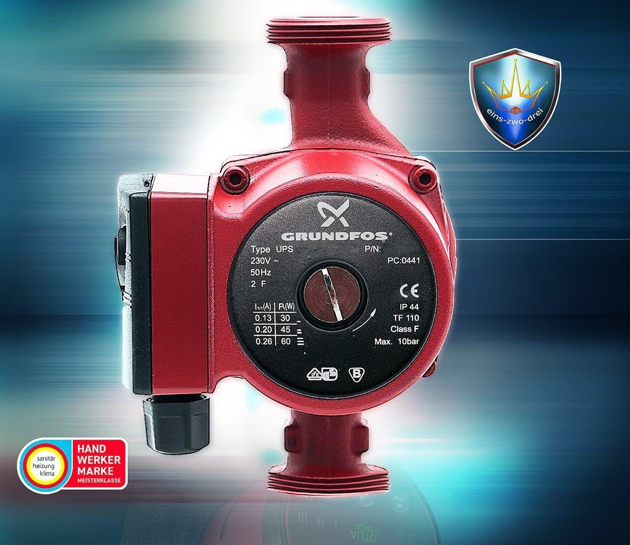 Grundfos UPS 25-40 180mm 96281379 Heizungspumpe NEU