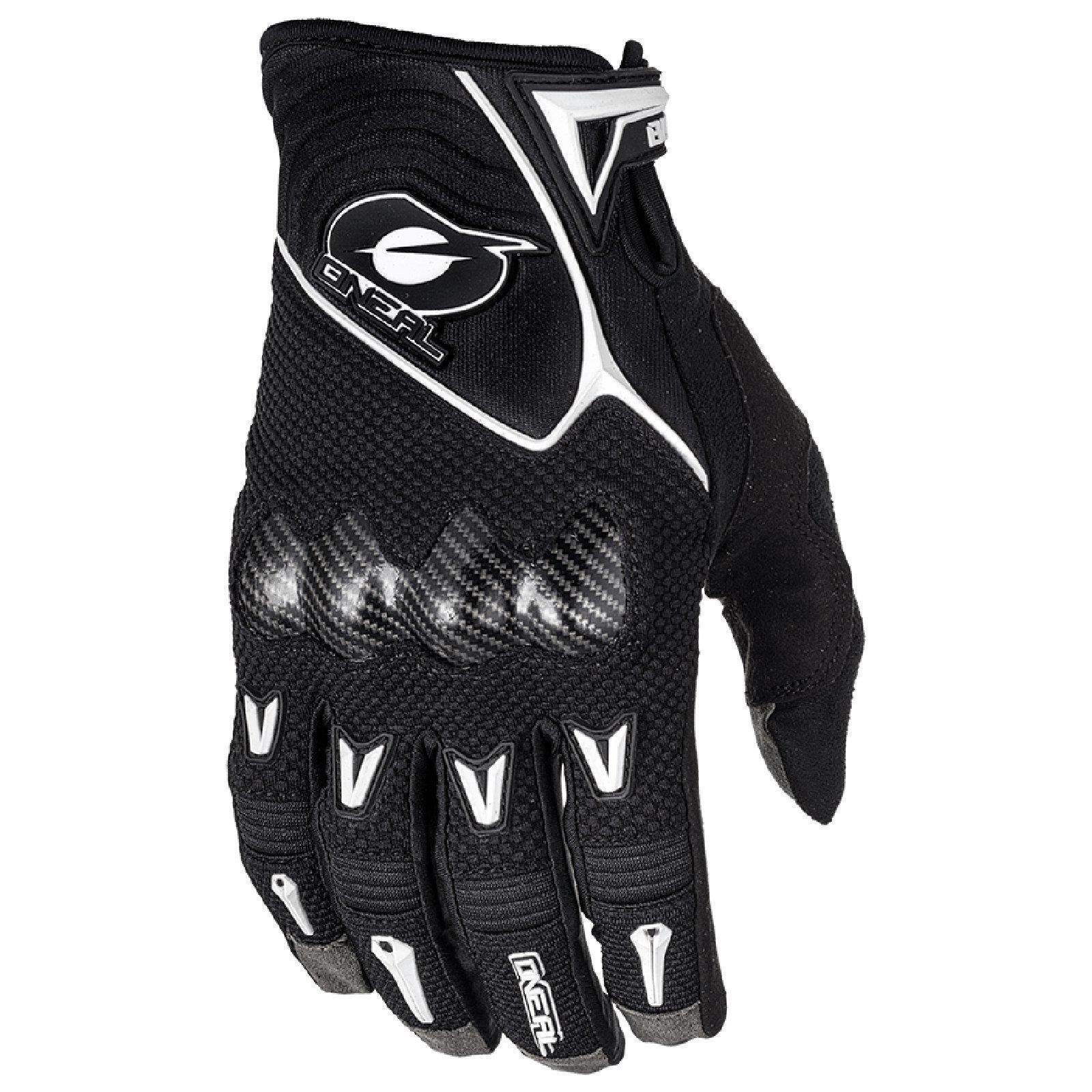 O'Neal Butch Carbon Knöchel MX Handschuhe Motocross Enduro Offroad DH Knöchel Carbon Schutz MTB 2a5841