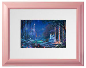 Thomas-Kinkade-Disney-Dreams-Collection-9x12-Framed-Matted-Prints-Choice-of-6