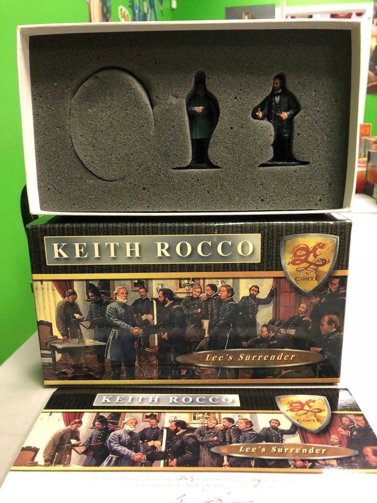 KEITH KEITH KEITH ROCCO CONTE COLLECTIBLES LEE'S SURRENDER  ROC007 OF 1863 LIMITED fe2129