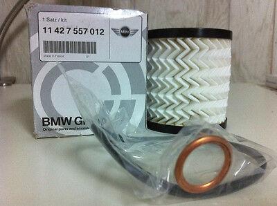 2x Oil Filter Kit For Mini Cooper 2007 2008 2009 2010 2011 2012 #11427622446