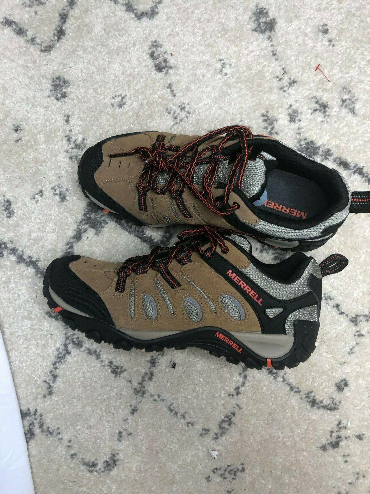 New Men`s Merrell Crosslander Vent Hiking shoes J362583C SZ 7