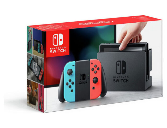 Nintendo Switch 32GB Console Neon Blue Red With Tegra Processor By NVIDIA