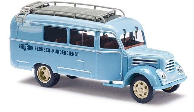 Busch 51862 Robur Garant K30, Rafena Fernseh Kundendienst, Auto Modell 1 87 (H0)